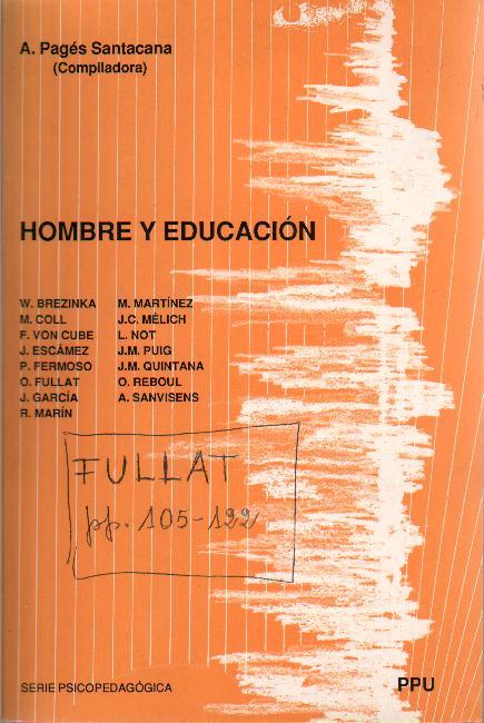 Hombre y educación (En colaboración)