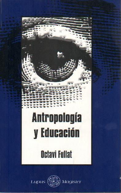 Antropología y Educación